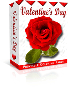 Valentine's Day collection, PLR articles to coloring pages | eBooks | Entertainment