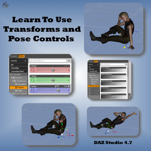 First Additional product image for - Getting Started In 3D with Daz Studio