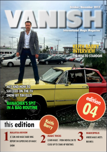 Vanish Magic Magazine 4 | eBooks | Magazines