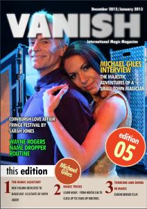 Vanish Magic Magazine 5 | eBooks | Magazines