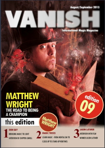 vanish magic magazine 9