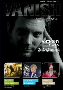 Vanish Magic Magazine 18 | eBooks | Magazines