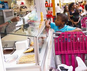 buying ice-cream