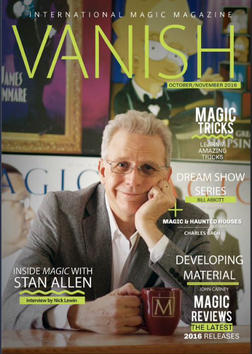 First Additional product image for - Vanish Magic Magazine 27