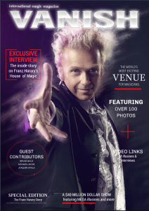 Vanish Magic Magazine Special 1 | eBooks | Magazines