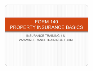 commercial basics form 140