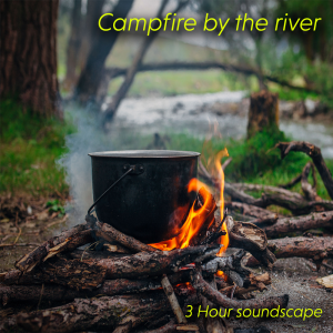 campfire by the river