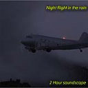 Night flight in the rain | Music | Ambient
