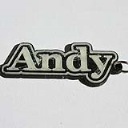 Andy Single & Dual Color 3D Printable Keychain-Badge-Stamp | Other Files | Patterns and Templates