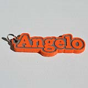 Angelo Single & Dual Color 3D Printable Keychain-Badge-Stamp | Other Files | Patterns and Templates
