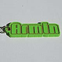 Armin Single & Dual Color 3D Printable Keychain-Badge-Stamp | Software | Add-Ons and Plug-ins