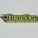 Brandon Single & Dual Color 3D Printable Keychain-Badge-Stamp | Other Files | Patterns and Templates