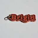 Bridgid Single & Dual Color 3D Printable Keychain-Badge-Stamp | Other Files | Patterns and Templates