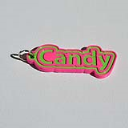 Candy Single & Dual Color 3D Printable Keychain-Badge-Stamp | Other Files | Patterns and Templates