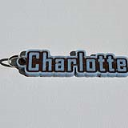 Charlotte Single & Dual Color 3D Printable Keychain-Badge-Stamp   Other Files   Arts and Crafts
