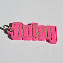 Daisy Single & Dual Color 3D Printable Keychain-Badge-Stamp | Other Files | Patterns and Templates