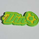 Dino Single & Dual Color 3D Printable Keychain-Badge-Stamp | Other Files | Patterns and Templates