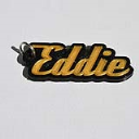 Eddie Single & Dual Color 3D Printable Keychain-Badge-Stamp | Other Files | Patterns and Templates