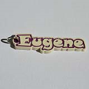 Eugene Single & Dual Color 3D Printable Keychain-Badge-Stamp | Other Files | Patterns and Templates