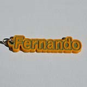 Fernando Single & Dual Color 3D Printable Keychain-Badge-Stamp | Other Files | Patterns and Templates