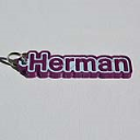 Herman Single & Dual Color 3D Printable Keychain-Badge-Stamp | Other Files | Clip Art