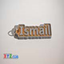 Ismail Single & Dual Color 3D Printable Keychain-Badge-Stamp | Other Files | Patterns and Templates