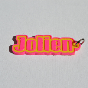 Jolien Single & Dual Color 3D Printable Keychain-Badge-Stamp | Other Files | Everything Else