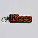 Kees Single & Dual Color 3D Printable Keychain-Badge-Stamp | Other Files | Everything Else