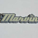 Marvin Single & Dual Color 3D Printable Keychain-Badge-Stamp | Other Files | Fonts