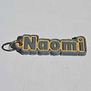 Naomi Single & Dual Color 3D Printable Keychain-Badge-Stamp | Other Files | Patterns and Templates