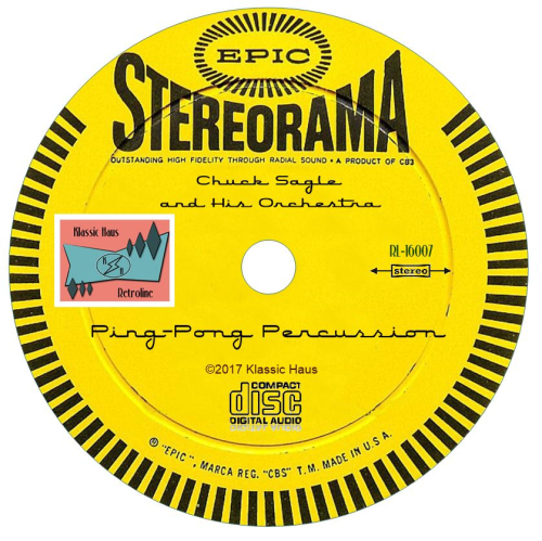 Second Additional product image for - Chuck Sagle and His Orchestra Ping-Pong Percussion
