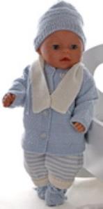 DollKnittingPatterns 0163D LASSE - Jacke, Mütze, Anzug, Schal und Socken-(Deutsch) | Crafting | Knitting | Other