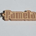 Pamela Single & Dual Color 3D Printable Keychain-Badge-Stamp | Other Files | Patterns and Templates