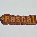 Pascal Single & Dual Color 3D Printable Keychain-Badge-Stamp | Other Files | Everything Else