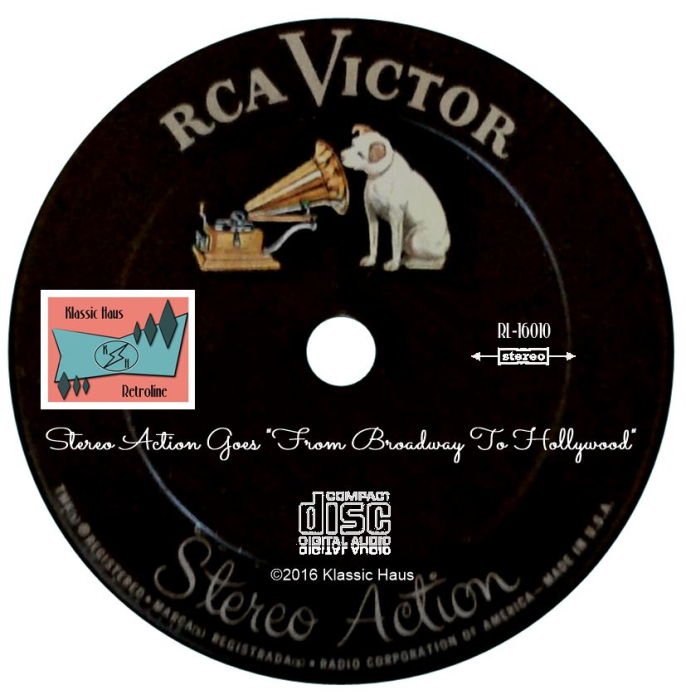 """Second Additional product image for - Stereo Action Goes """"From Broadway To Hollywood"""""""