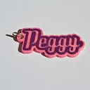 Peggy Single & Dual Color 3D Printable Keychain-Badge-Stamp | Other Files | Patterns and Templates