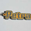 Petra Single & Dual Color 3D Printable Keychain-Badge-Stamp | Other Files | Stock Art