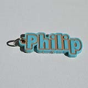 Philip Single & Dual Color 3D Printable Keychain-Badge-Stamp | Software | Design Templates