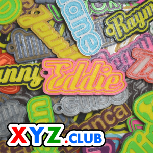 pim single & dual color 3d printable keychain-badge-stamp