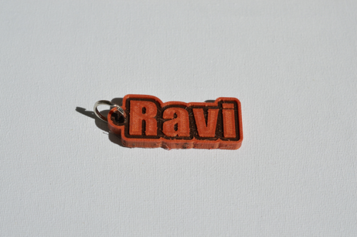First Additional product image for - Ravi Single & Dual Color 3D Printable Keychain-Badge-Stamp