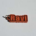 Ravi Single & Dual Color 3D Printable Keychain-Badge-Stamp | Software | Software Templates