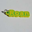 Roan Single & Dual Color 3D Printable Keychain-Badge-Stamp | Software | Business | Other