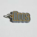 Roos Single & Dual Color 3D Printable Keychain-Badge-Stamp | Other Files | Stock Art