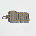 Rosa Single & Dual Color 3D Printable Keychain-Badge-Stamp | Other Files | Graphics