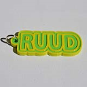 Ruud Single & Dual Color 3D Printable Keychain-Badge-Stamp | Other Files | Documents and Forms