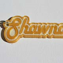 Shawna Single & Dual Color 3D Printable Keychain-Badge-Stamp | Other Files | Everything Else