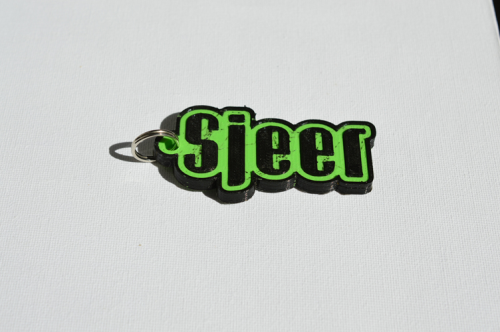 First Additional product image for - Sjeer Single & Dual Color 3D Printable Keychain-Badge-Stamp