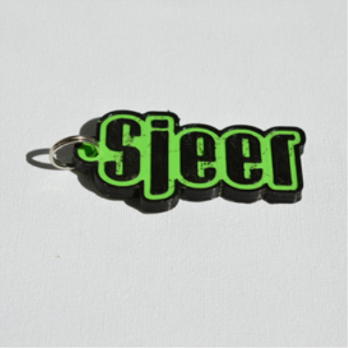 Second Additional product image for - Sjeer Single & Dual Color 3D Printable Keychain-Badge-Stamp