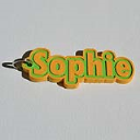 Sophie Single & Dual Color 3D Printable Keychain-Badge-Stamp | Other Files | Stock Art