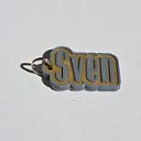 Sven Single & Dual Color 3D Printable Keychain-Badge-Stamp | Other Files | Graphics